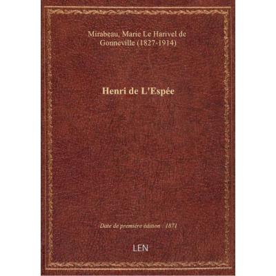 Henri de L'Espée / Comtesse de Mirabeau