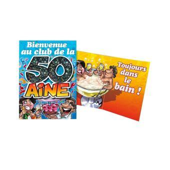 Carte Anniversaire 50 Ans Article De Fete Achat Prix Fnac