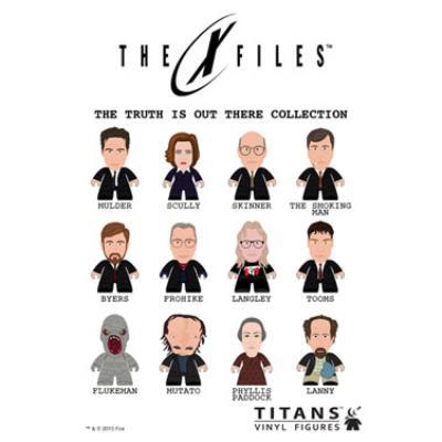 Titan Merchandise - X-Files présentoir trading figures The Cartoon Network Collection Tita