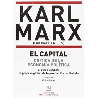 El Capital III - Crítica de la economía política