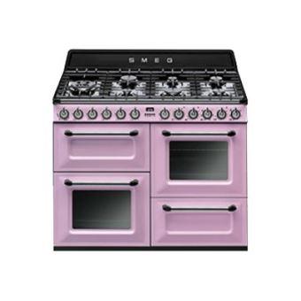 nouveau style 4ae66 0b6fb Smeg Victoria TR4110RO - cuisinière - pose libre - rose