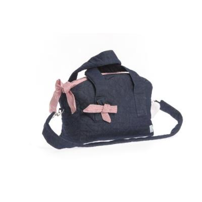 therese accessoires rosetta sac à couches rose 50 x 36 cm