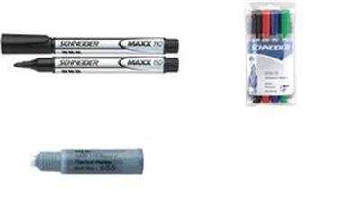 SCHNEIDER - marqueur MAXX 110 pour tableau blanc et chevalet, Noir