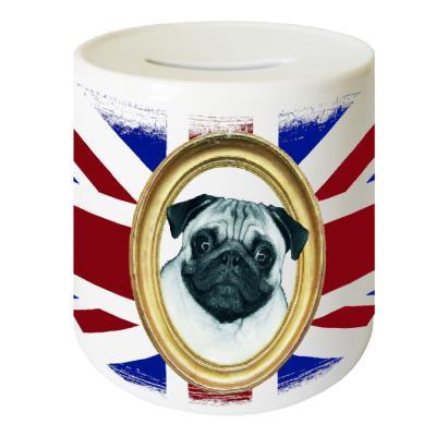 Tirelire en céramique UK Carlin by CBK