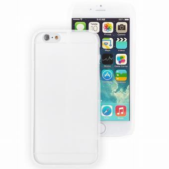 Coque Iphone 6 silicone blanche transparente