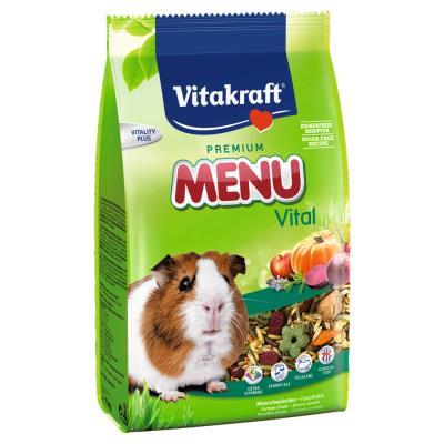 Vitakraft - Sachets Fraîcheur Premium Menu Vital pour Cochons d'Inde - 4Kg