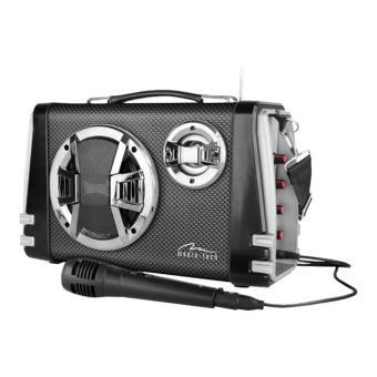 Media-Tech KARAOKE BOOMBOX BT MT3149 - draagbare karaoke - USB-host, flash-geheugenkaart
