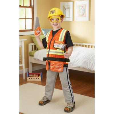 Déguisement pour enfant du chef de chantier Max