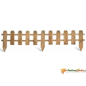 Bordure de jardin en bois ajourée à planter | Burger - Décoration d ...