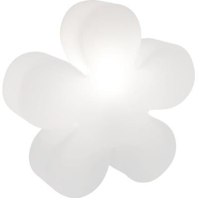 Fleur lumineuse blanche changement couleur LED