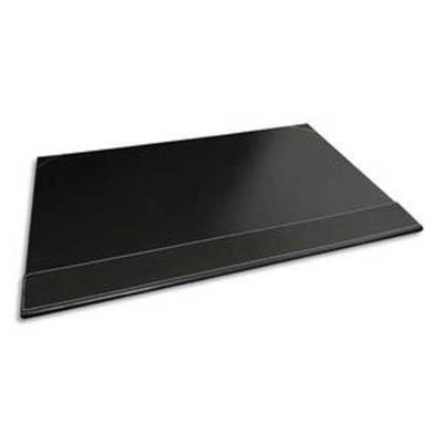 Sous-main à rabat simili cuir - Dimensions L50 x H35 x P1 cm coloris noir