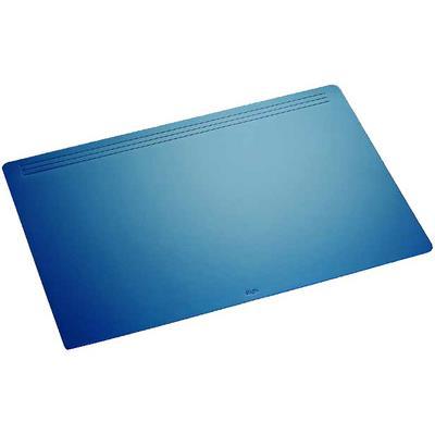 Laufer - sous-main ambiente matton, noir dimensions 500 x 700 mm, revêtement en toison sur larrièreavec un ornement de 3 ligne
