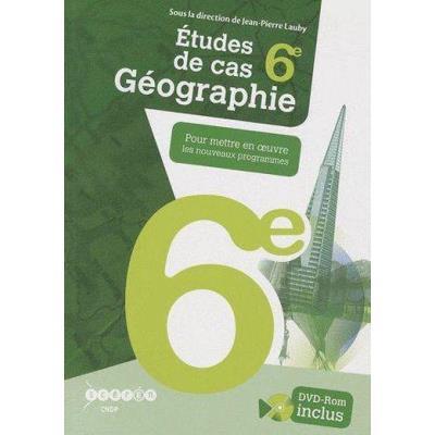 Géographie , 6Ème , Études De Cas