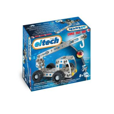 Eitech - 2042553 - jeu de construction - c69 - kit métallique - starter-set - camion-grue/camion