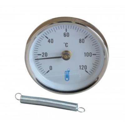 Thermomètre d'applique diamètre 80mm
