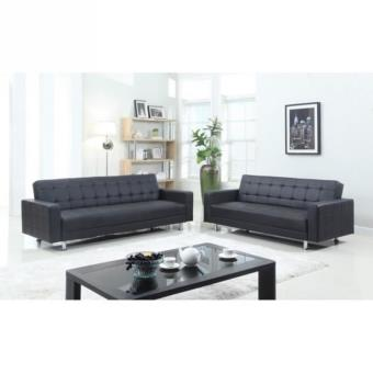 Luxury Ensemble De Canapes Convertibles 2 3 Places 180x84x81 Cm