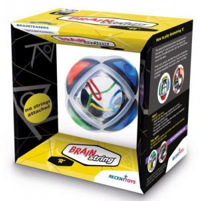 Découvrez la variante de Brainstring !Avec Brainstring R, faites tourner la sphère afin de démêler les fils de couleurs.Joueur : 1. &Acircge : à partir de 7 ans.