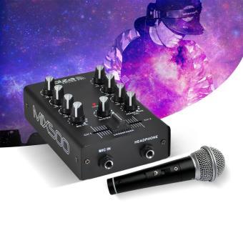Table de mixage 2 canaux 2 entr es line 1 entr e mic - Table de mixage en ligne gratuit ...