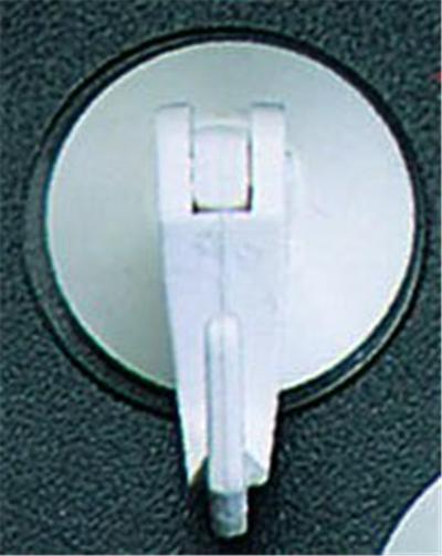 Metaltex - sorepro crochet ventouse(2)a levier sor*295001
