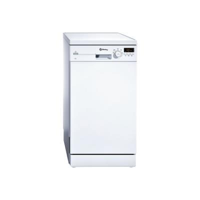Balay 3VN502BA - Lave-vaisselle - pose libre - largeur : 45 cm - profondeur : 60 cm - hauteur : 84.5 cm - blanc