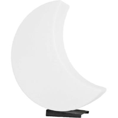 Lune lumineuse blanche changement couleur LED 60cm