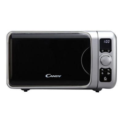 Candy EGO G25DCS - four micro-ondes grill - pose libre - argent métallique