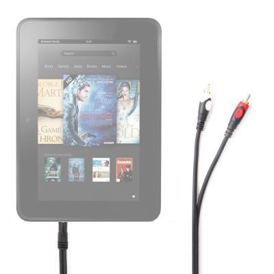 Câble audio pour tablette Kindle Fire 7 HD et 8,9 HD d'Amazon, Kindle Fire 7pouces