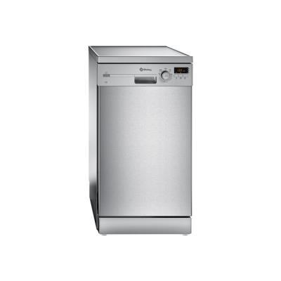 Balay 3VN502IA - Lave-vaisselle - pose libre - largeur : 45 cm - profondeur : 60 cm - hauteur : 84.5 cm - Acier