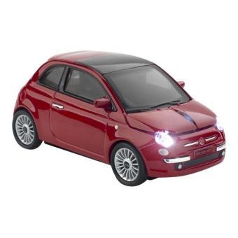 sunnytrade car mouse fiat 500 souris 2 4 ghz rouge achat prix fnac. Black Bedroom Furniture Sets. Home Design Ideas