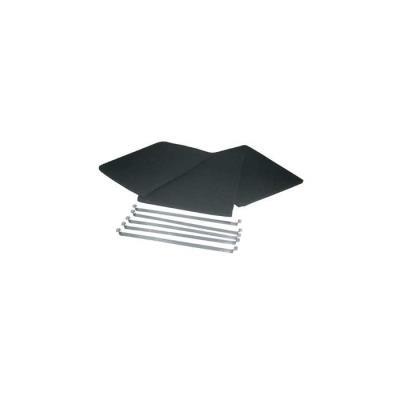 filtres charbon (x3) 305x220mm pour hotte de-dietrich