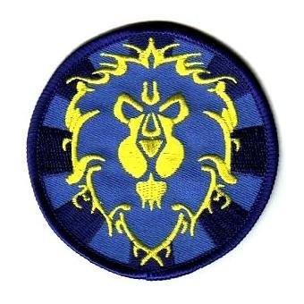 Ecusson brodé World of Warcraft symbole Alliance, Ecusson, Top Prix   fnac 0f22bb6fadc