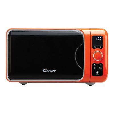 Candy EGO G25DCO - four micro-ondes grill - pose libre - orange métallisé