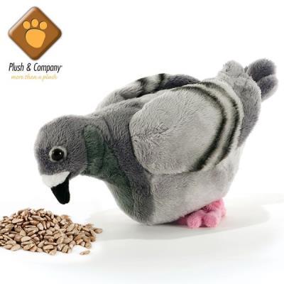 Claude - Peluche de pigeon - 23 cm
