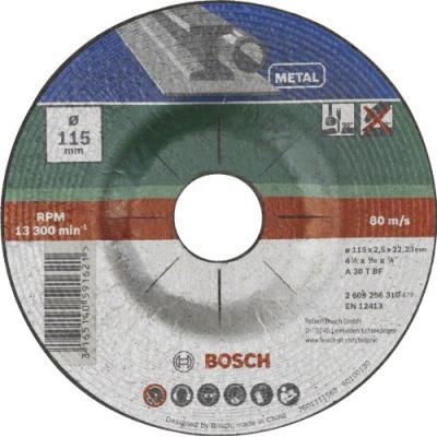 Bosch 2609256313 Disque à Tronçonner à Moyeu Déporté Pour Métaux Diamètre 230 Mm Diamètre D'Alésage 22/23 Epaisseur 3 Mm