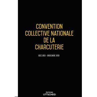 Convention Collective Nationale Charcuterie Janvier 2018 Grille De