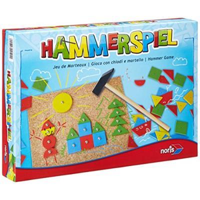 Noris - 606049101 - Jeux pour enfants - Jeu de marteau - Multicolore