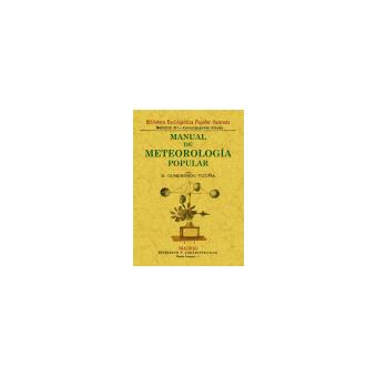 Manual de meteorología popular
