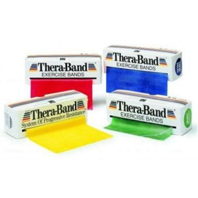Thera-Band - Bande d'exercice - Moyenne - Rouge - 5,5 m