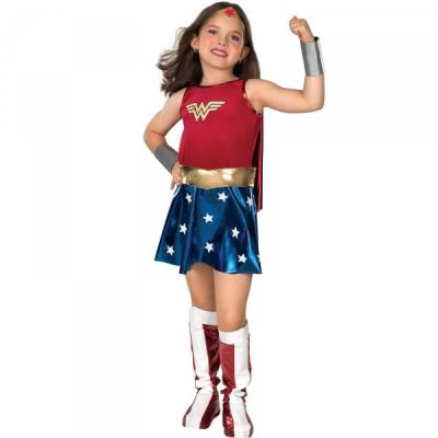 Costume de Wonder Woman Classic fille - 3-4 ans