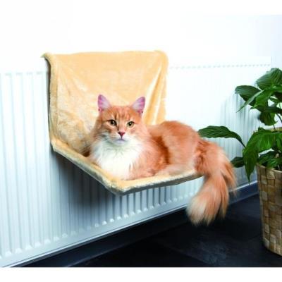 Trixie hamac radiateur, peluche pour chat