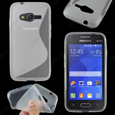 ebestStar ® pour Samsung Galaxy Trend 2 Lite SM-G318H, Galaxy V plus - Housse Etui Coque Silicone Gel Motif S-line Protection Souple, Couleur ...