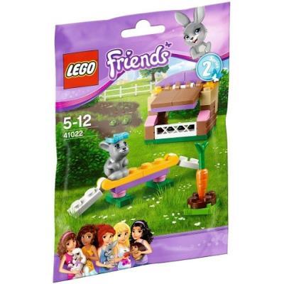 41022 Le lapin et son clapier, Lego Friends