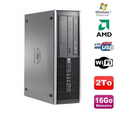 Processeur : De marque AMD Fréquence 3GHz - 2 coeurs - Socket AM2+ / AM3 Mémoire Vive : 16 Go - DDR3 Disque dur : 2000 Go SATA Lecteur optique : Graveur DVD Contrôleur graphique : ATI Radeon HD 4200 Réseau : Broadcom NetXtreme Gigabit Ethernet Link 10/100