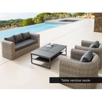 Table basse San Rafael pour salon de jardin - Mobilier de Jardin ...