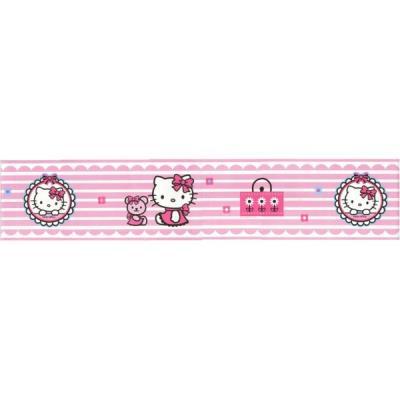 Frise murale Fashion Hello Kitty