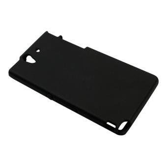 Sandberg Design Cover soft - Beschermende bedekking voor mobiele telefoon - zwart - voor Sony XPERIA Z