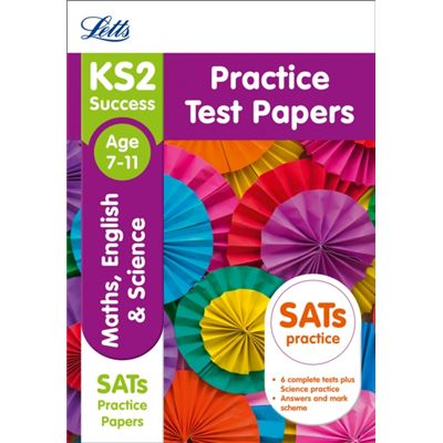 Ks2 Maths, English And Science Practice Test Papers (Letts Ks2 Sats Revision Success - New 2014 Curriculum) (Paperback)