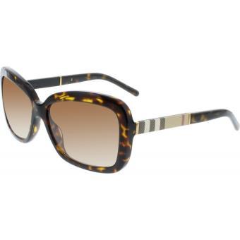 0f7cca555b Lunettes de soleil BURBERRY 4173 (300213) Marron Femme - Lunettes - Achat &  prix | fnac
