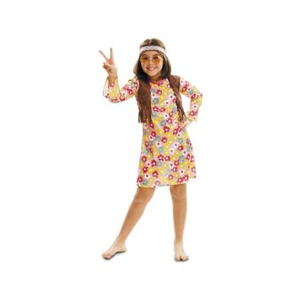 Déguisement hippie fille Taille 10 à 12 ans - Déguisement enfant - Achat    prix   fnac e4edf5f4e332