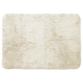 Tapis imitation fourrure Marmotte (L170 cm) Ecru - Achat & prix | fnac